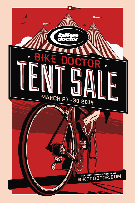 Tent Sale March 27th-30th.